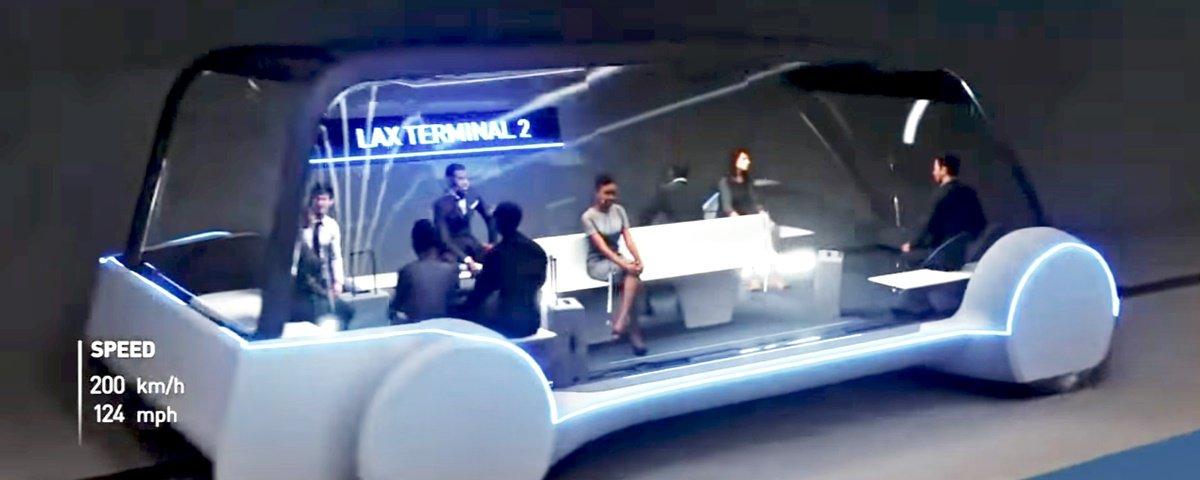 Musk revela o Loop, novo sistema de transporte por túnel rápido e barato
