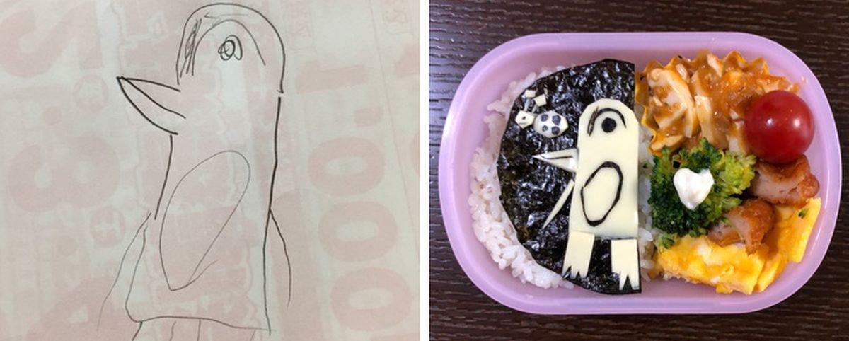20 merendas criadas por pai japonês que 'cozinha' os desenhos da filha
