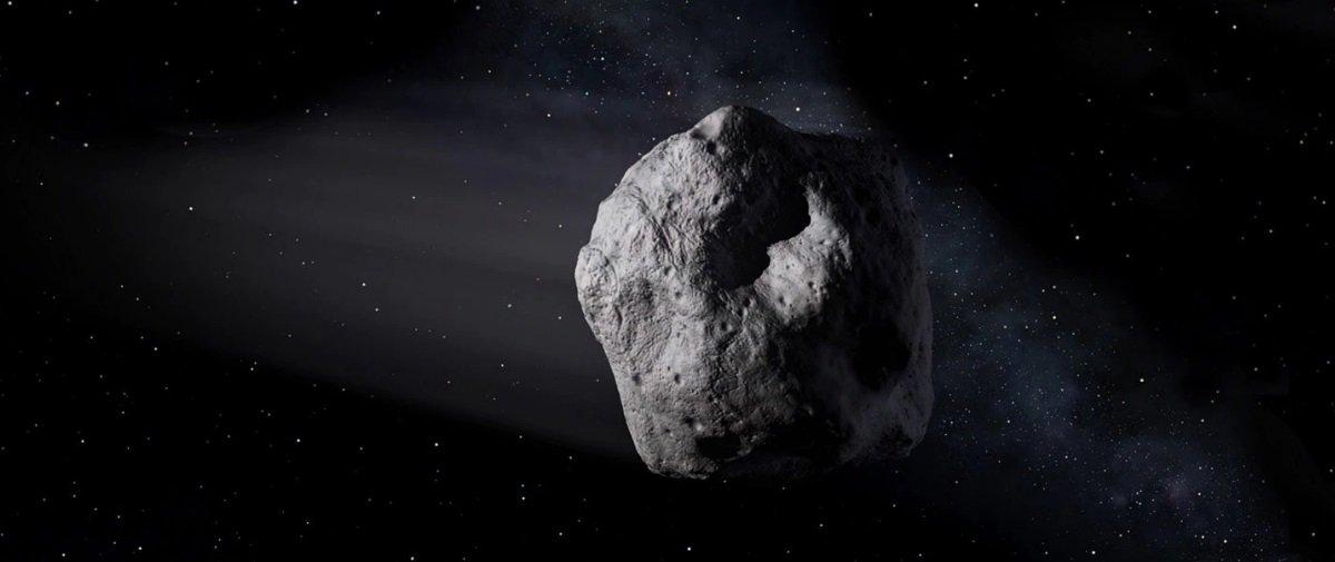 Você soube que um pequeno asteroide se desintegrou na atmosfera no sábado?