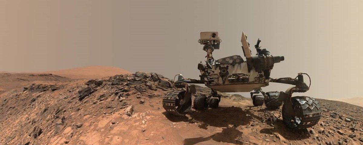 Nasa encontra indícios de que Marte tenha abrigado vida no passado distante