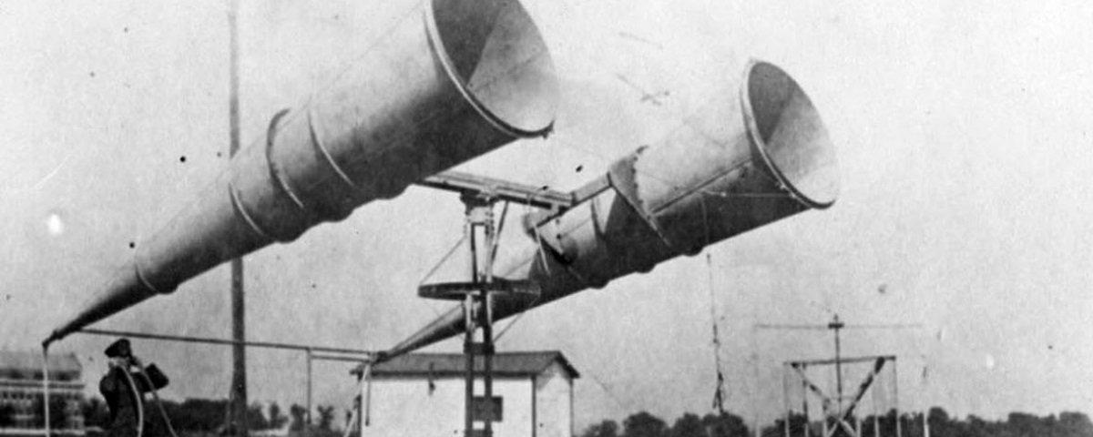Você tem ideia de como aviões eram detectados antes da invenção do radar?