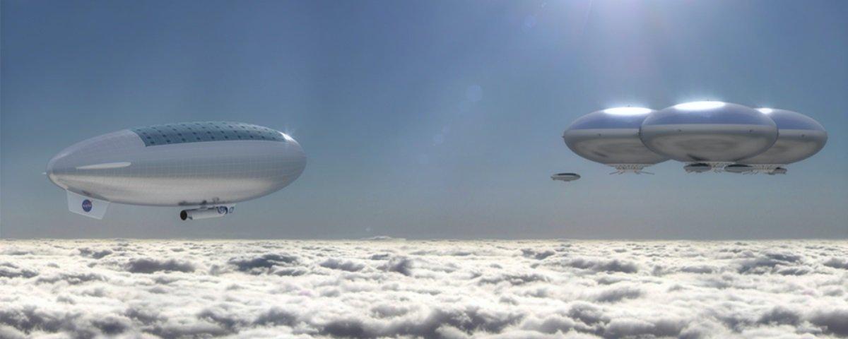 NASA mostra conceito de projeto que levaria missão tripulada até Vênus