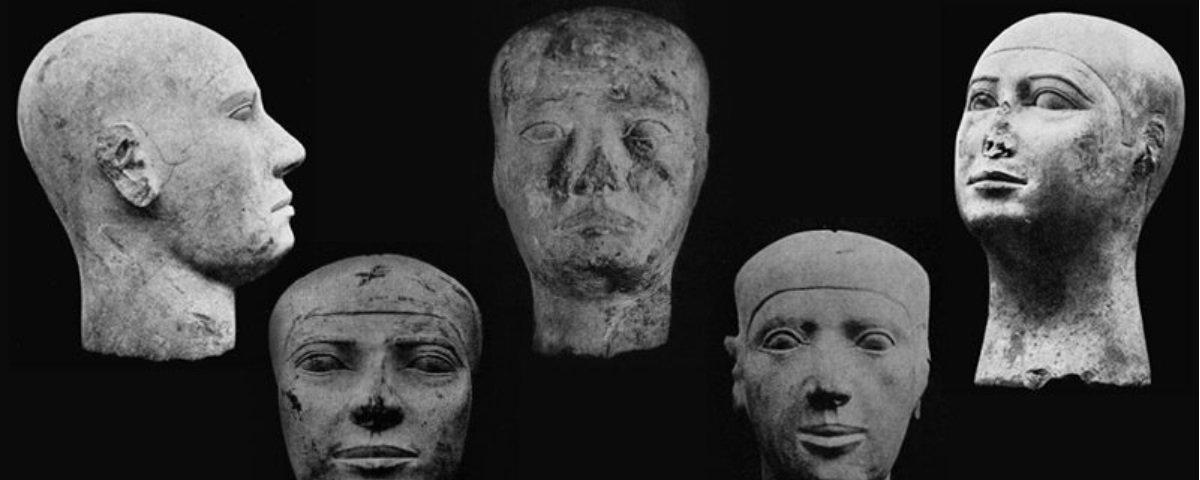 Você sabia que existiam cabeças extras junto das múmias nas tumbas?
