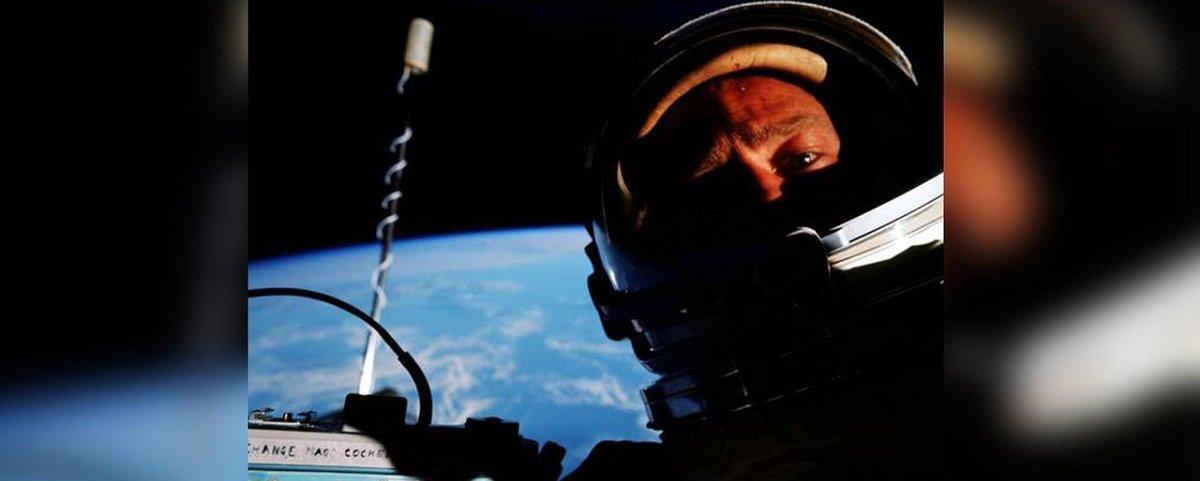 Buzz Aldrin lembra que foi o primeiro a capturar selfie no espaço