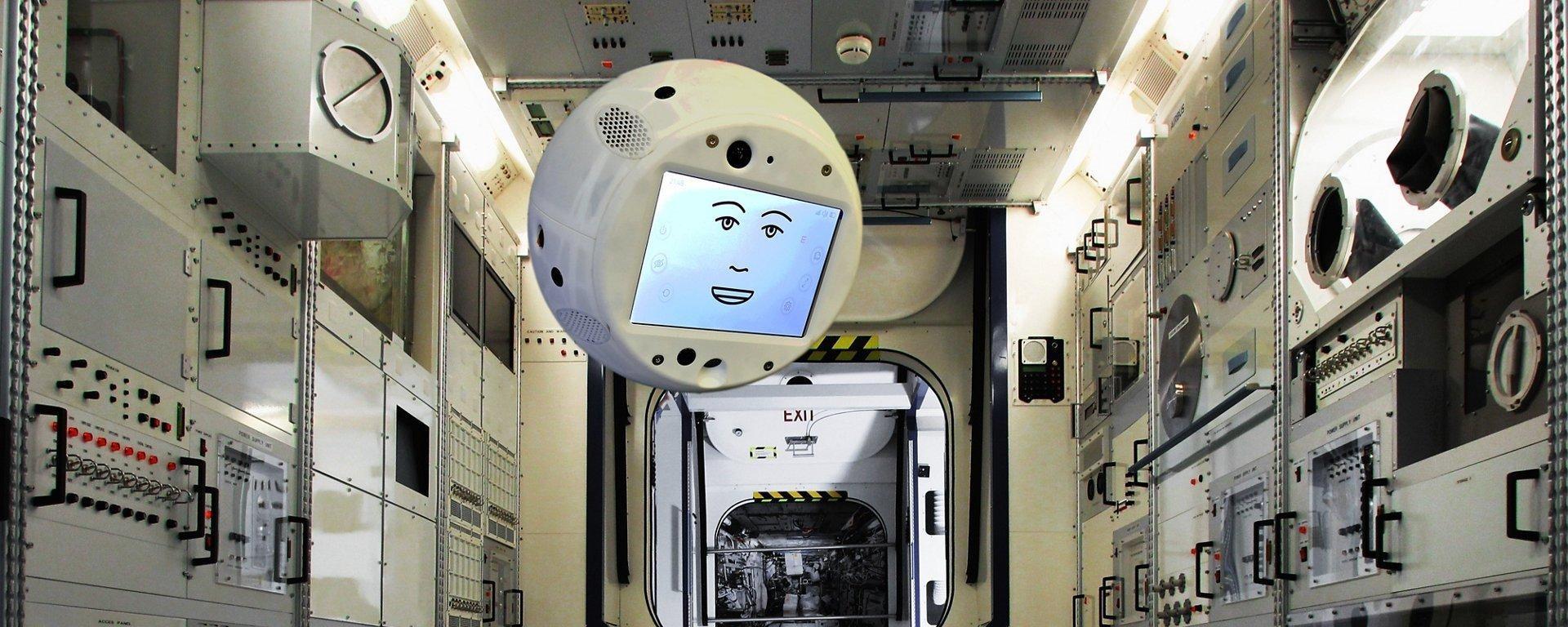Robô inteligente e flutuante será enviado à Estação Espacial Internacional