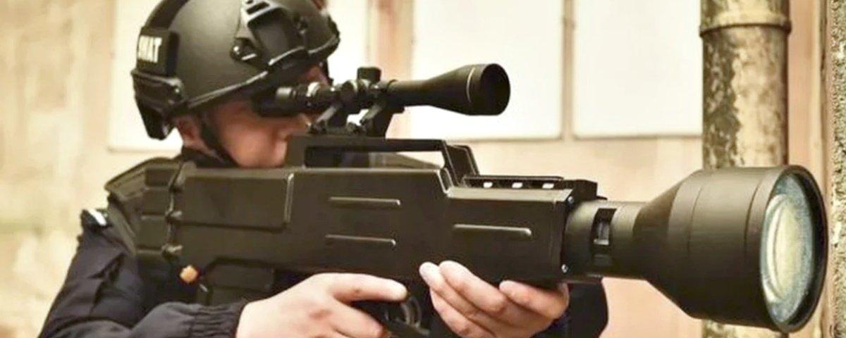 Empresa chinesa diz ter criado rifle laser incendiário com alcance de 800 m