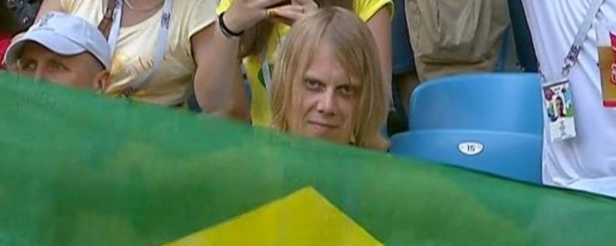 Torcedor misterioso da Seleção Brasileira tem a sua identidade revelada