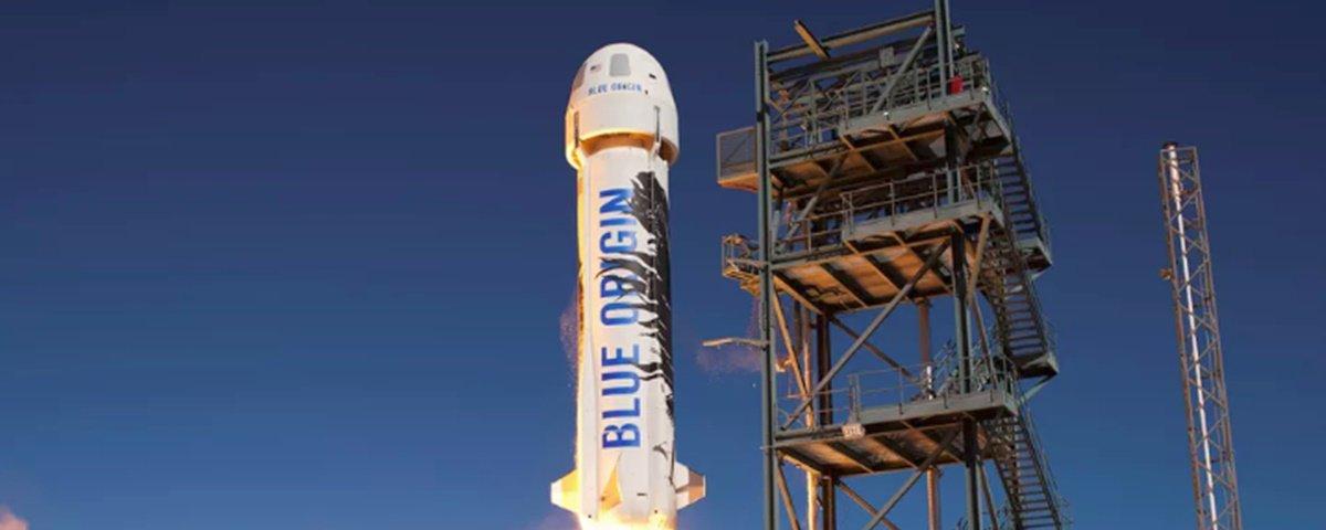 Jeff Bezos deve cobrar pelo menos US$ 200 mil por viagens espaciais