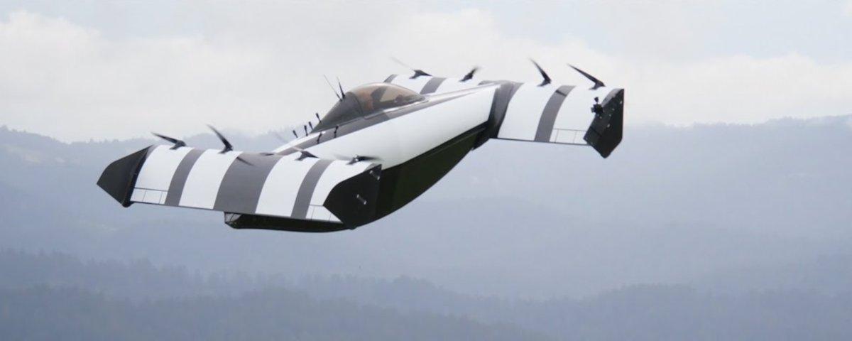 Conheça o veículo voador BlackFly, que tem apoio do criador do Google