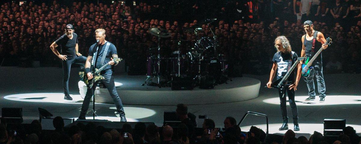 Spotify ajuda o Metallica a decidir quais músicas tocar em cada cidade