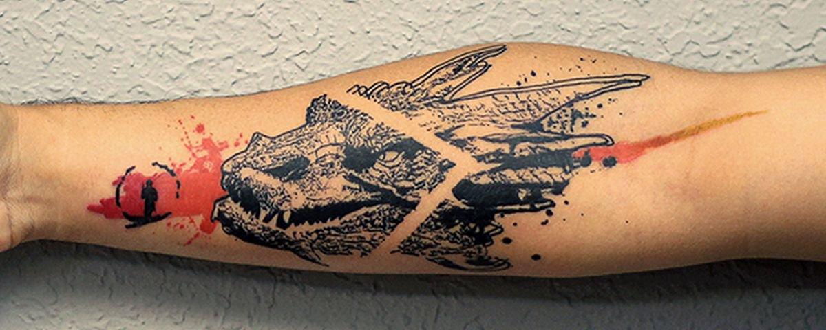 13 tatuagens incríveis que parecem saídas dos grafites das ruas