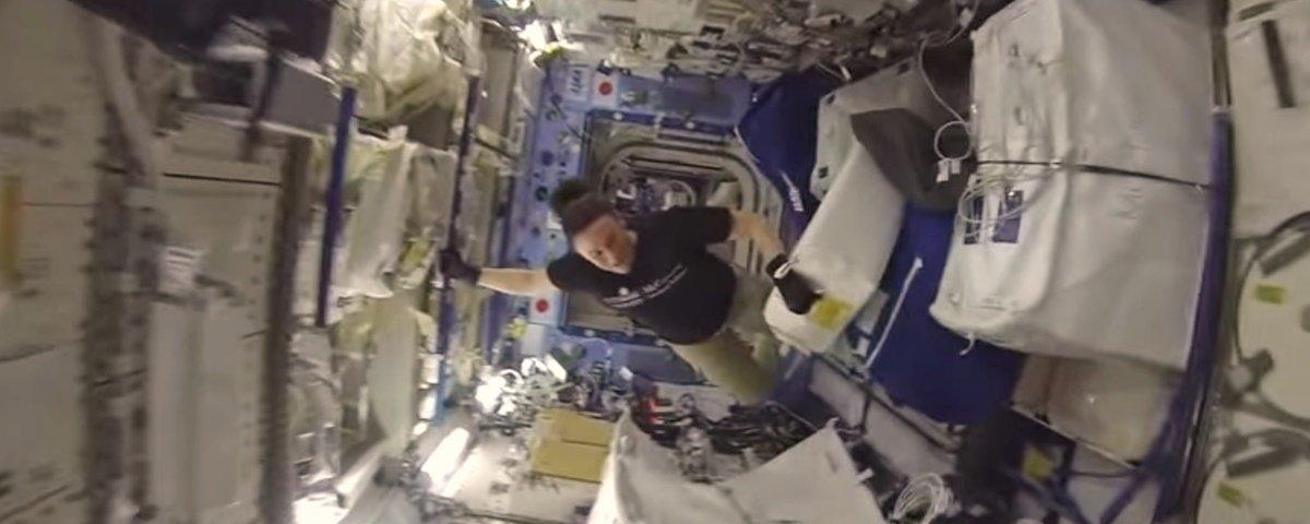 Vídeo mostra uma volta no maior corredor da Estação Espacial Internacional