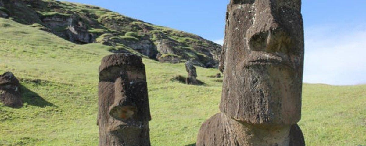 Novo estudo aponta que os habitantes da Ilha de Páscoa viviam em harmonia