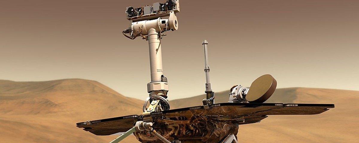 Sonda Opportunity tem 45 dias para dar 'oi' antes de ser declarada morta