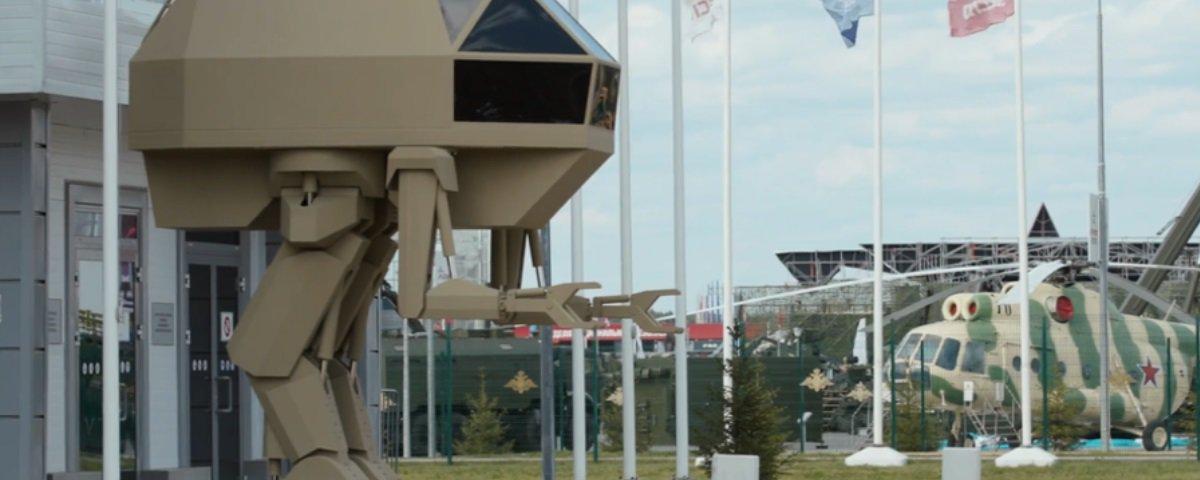 Rússia divulga desenvolvimento de andadores de combate