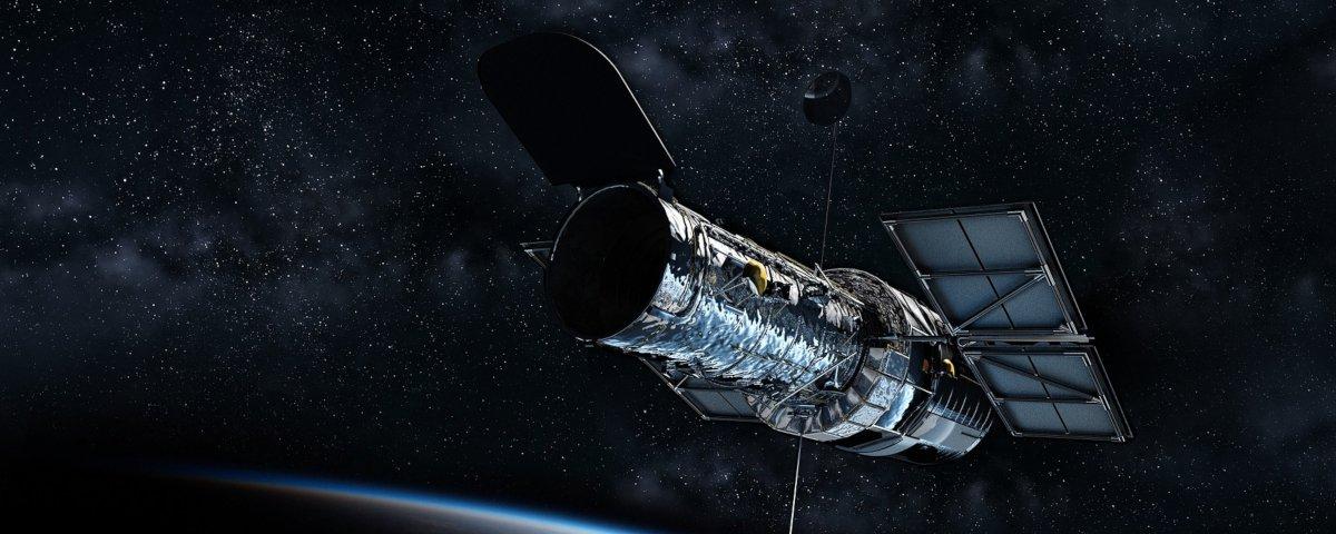 Telescópio Hubble entra em modo de segurança após falha em giroscópio