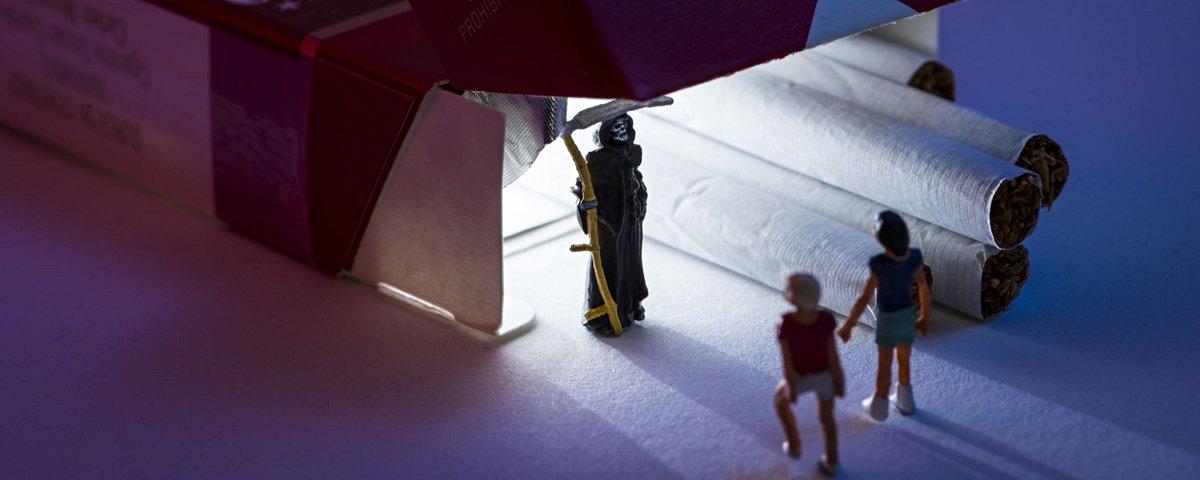 Fotógrafo usa objetos cotidianos para criar um incrível mundo em miniatura