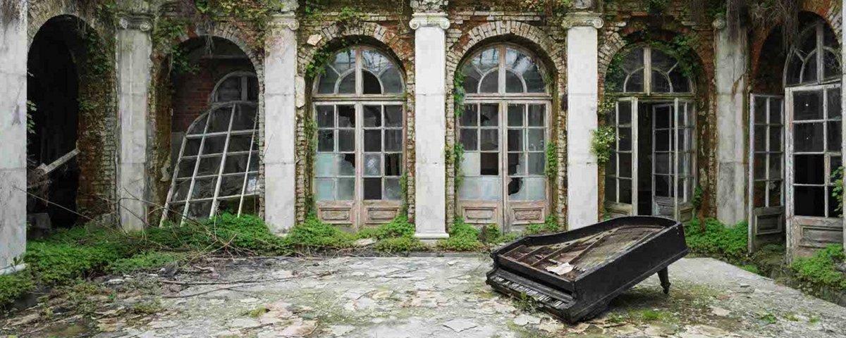 Fotógrafo percorre a Europa e registra a decadência de lugares abandonados
