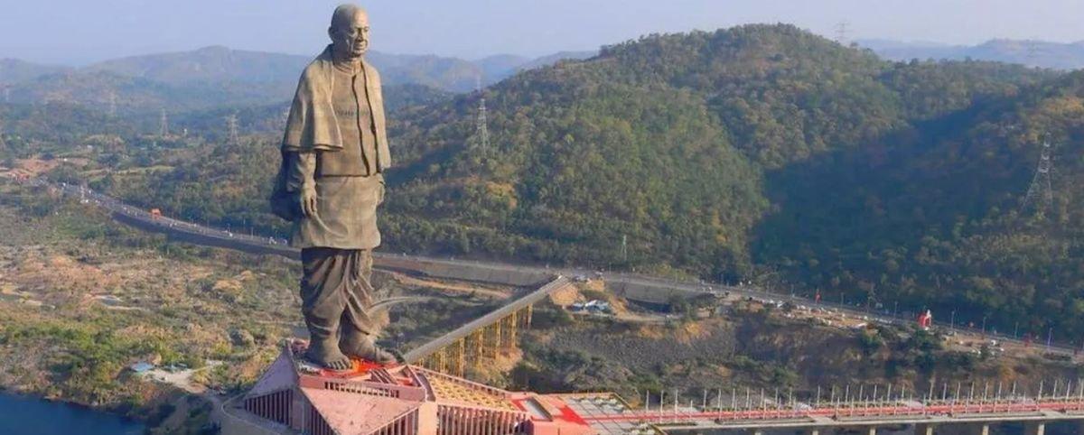 Tem Na Web - Estátua mais alta do mundo é inaugurada na Índia