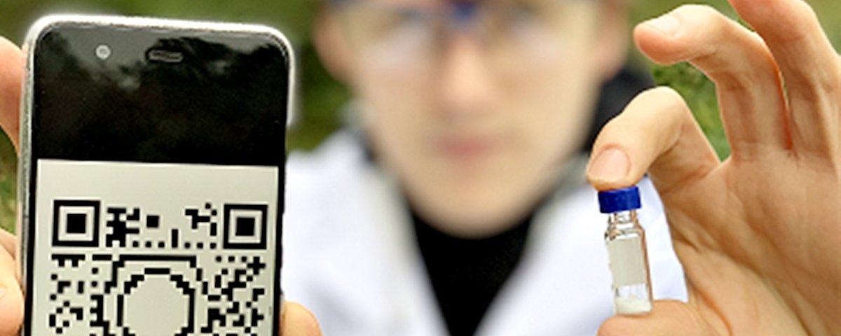 Cientistas desenvolvem processo que armazena dados em pó químico