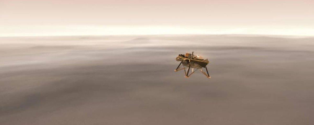 Após 6 anos, a NASA finalmente irá transmitir uma aterrissagem em Marte
