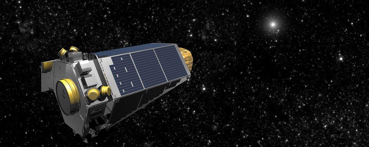 """Telescópio espacial Kepler é aposentado e dá """"adeus"""" à Terra"""