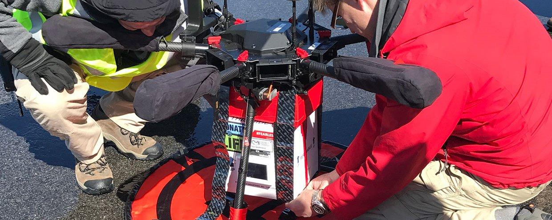 Médicos realizam primeiro transporte de rim usando um drone