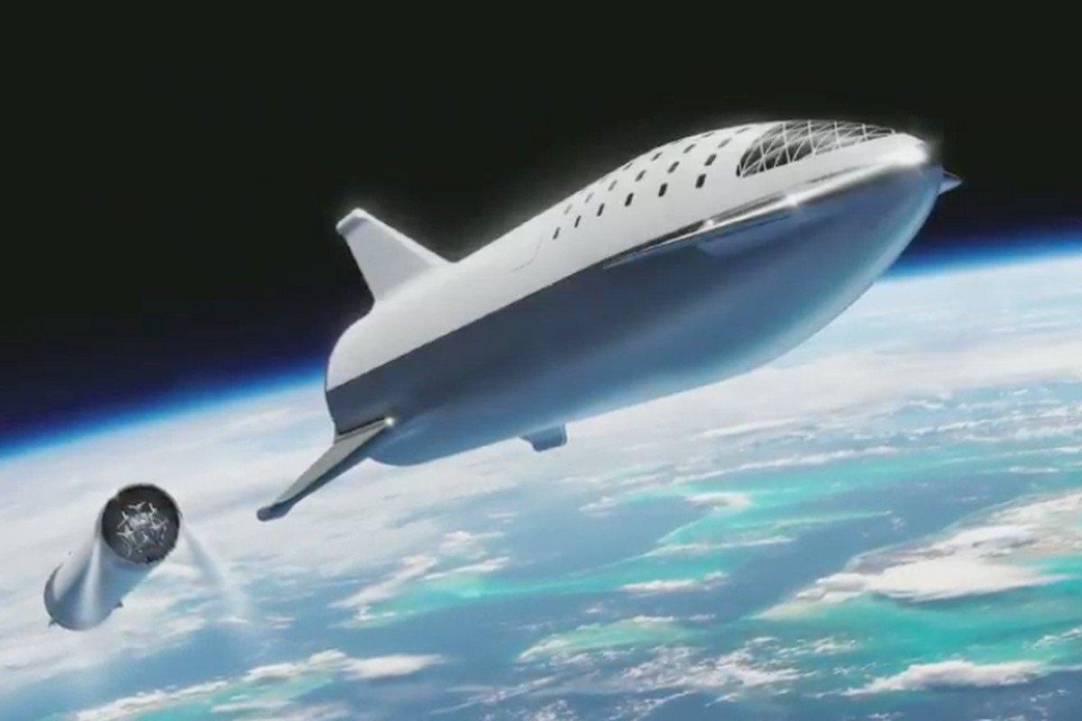 Nave da SpaceX que vai levar passageiros até Marte ganha novo nome