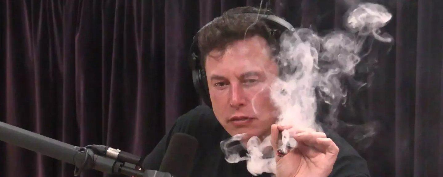 Vídeo de Musk fumando maconha leva NASA a fazer inspeção na SpaceX