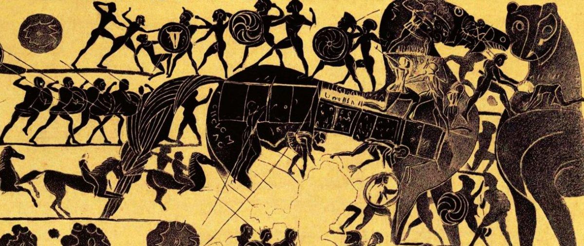 Soube que acharam uma cidade lendária relacionada com a Guerra de Troia?