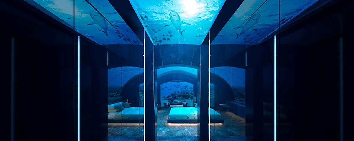 Você pode se hospedar neste hotel submerso por R$ 190 mil por noite