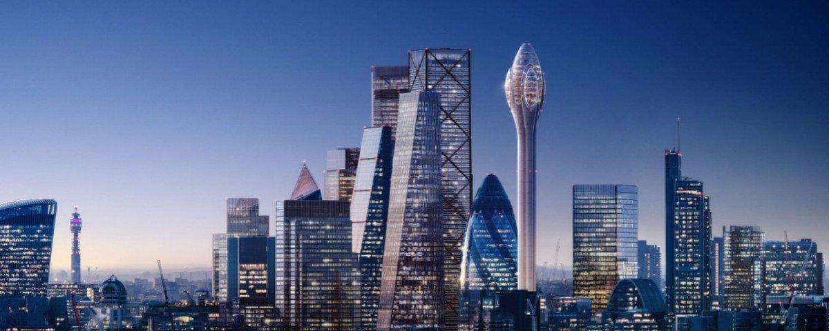 The Tulip: conheça o incrível projeto do novo arranha-céu de Londres