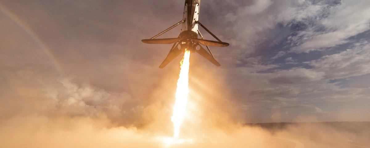 SpaceX manda Falcon 9 para o espaço mais uma vez e quebra 4 recordes