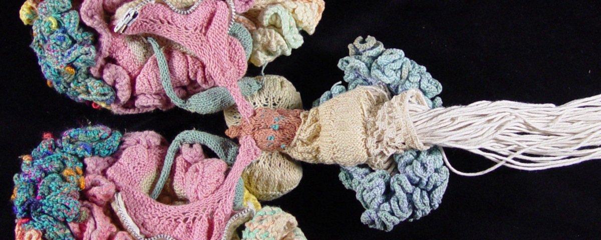 Psiquiatra resolveu fazer um cérebro de crochê e o resultado é incrível