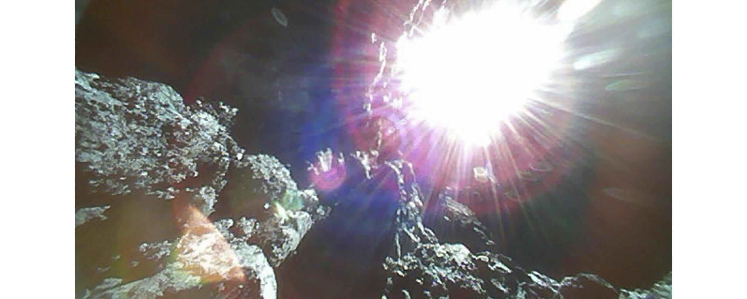 Sonda japonesa que pousou em asteroide fez novas fotos incríveis