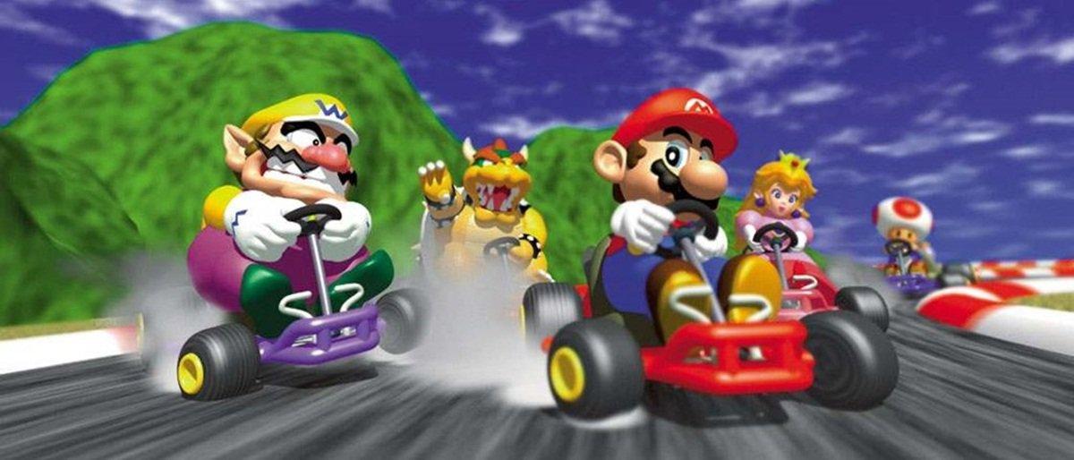 Há 18 anos, casal decide quem vai fazer chá em partidas de Mario Kart