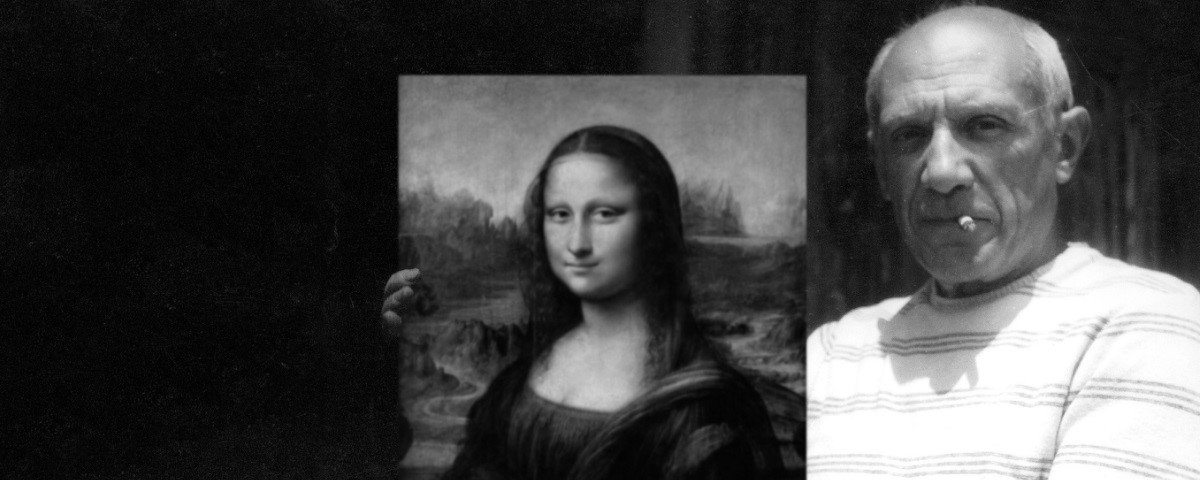 Sabia que quando roubaram a Mona Lisa, Pablo Picasso foi um dos suspeitos?