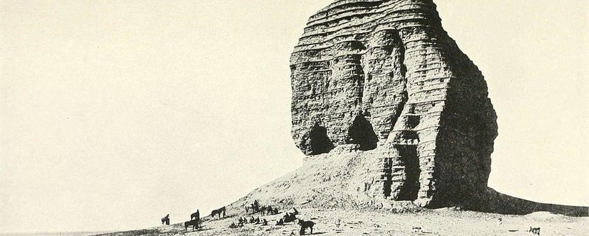 A curiosa construção babilônica que já foi chamada de Torre de Babel