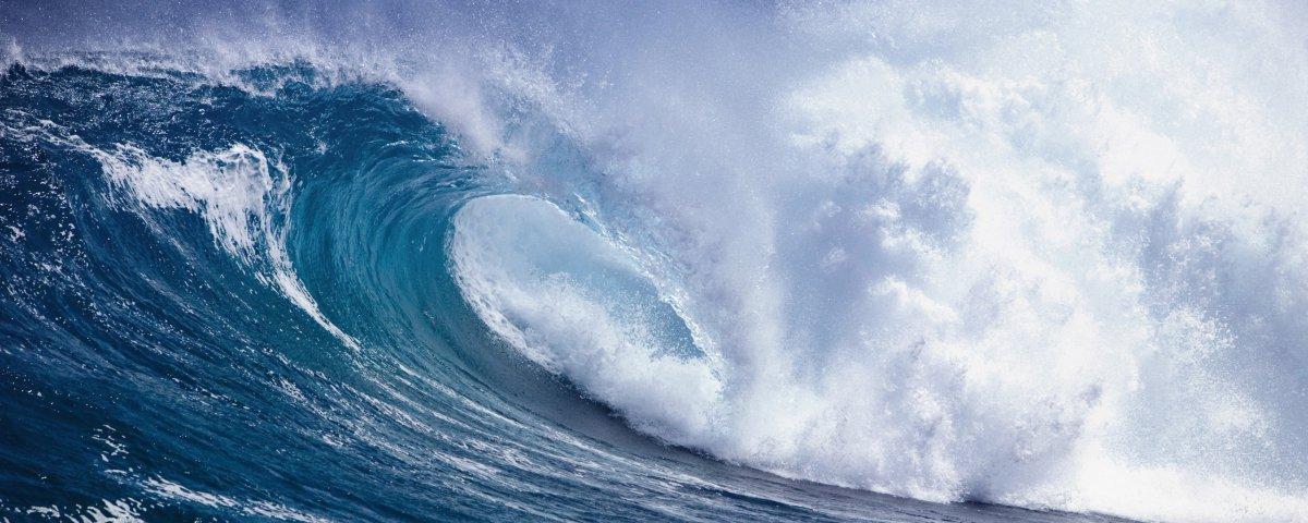 Cientistas criam em laboratório onda igual à de famosa arte japonesa