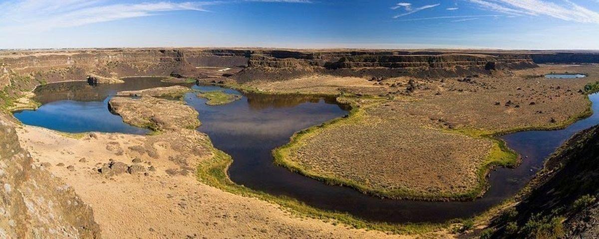 Maiores cataratas que já existiram na Terra hoje estão completamente secas