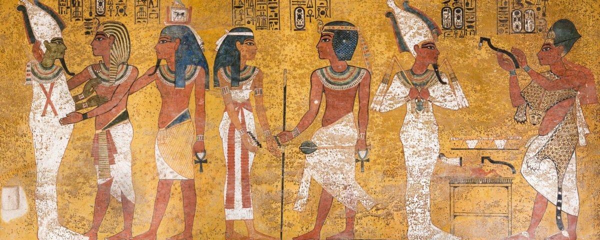Tem Na Web - Veja todo o esplendor da tumba de Tutankamon após 9 anos de restauração