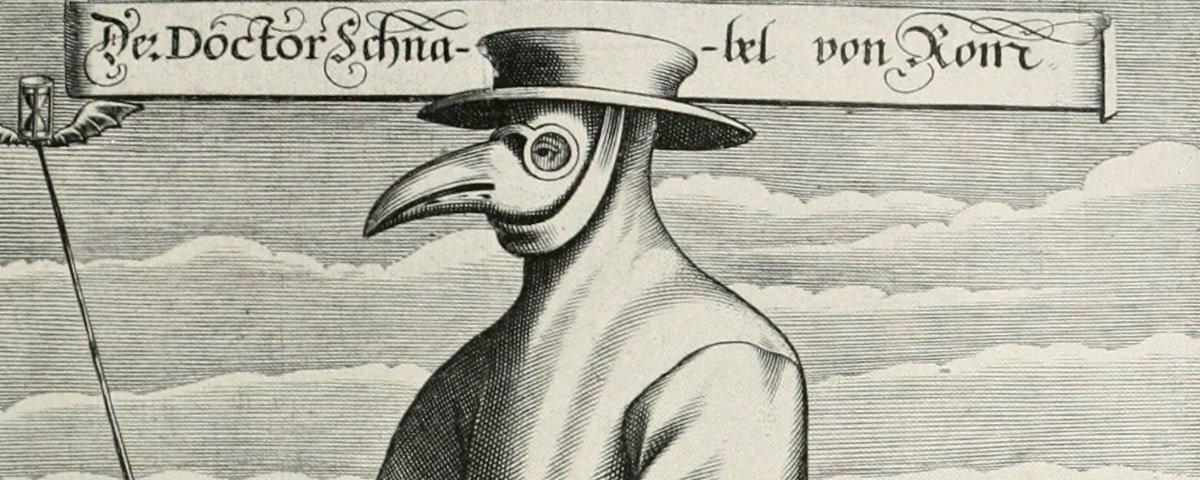 Você sabe em que consistia o uniforme que os médicos da peste negra usavam?