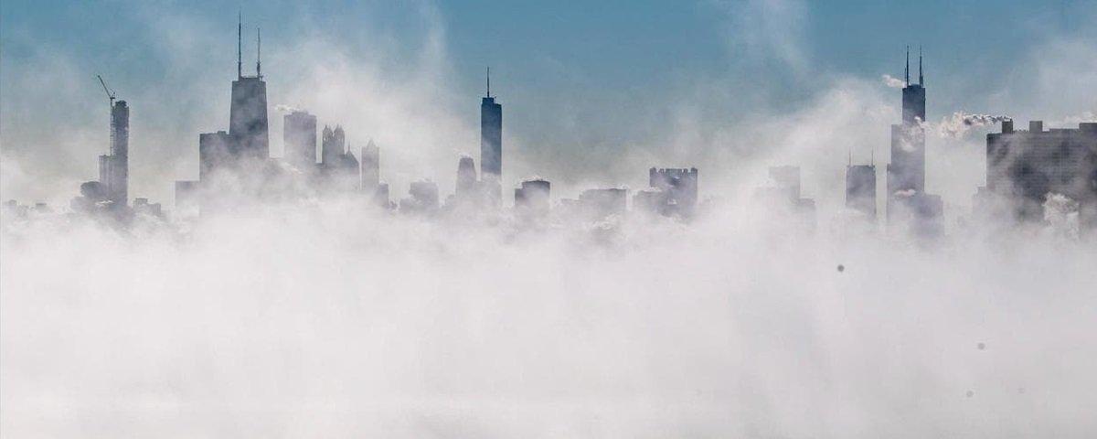 O pior do vórtice polar passou, mas as fotos insanas continuam circulando!