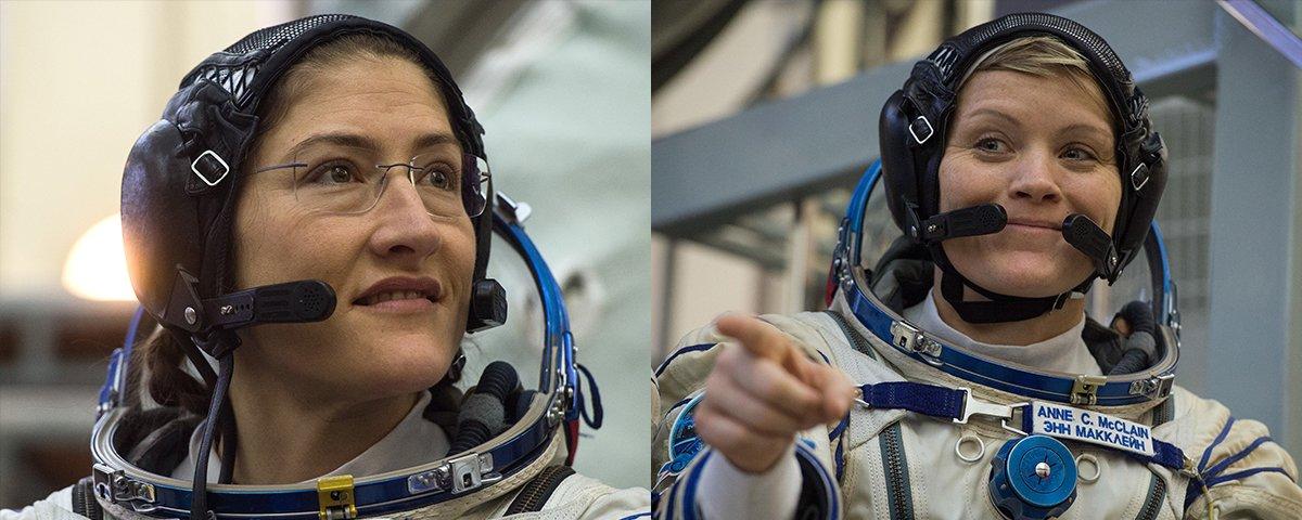 NASA anuncia caminhada espacial composta apenas por mulheres