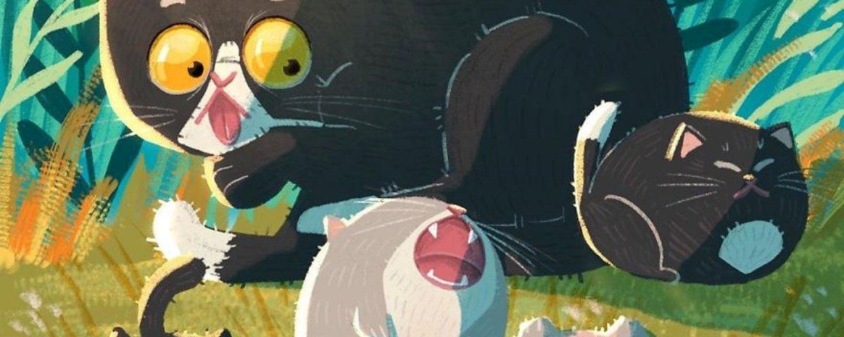 12 Ilustrações que explicam o porquê de amarmos gatinhos