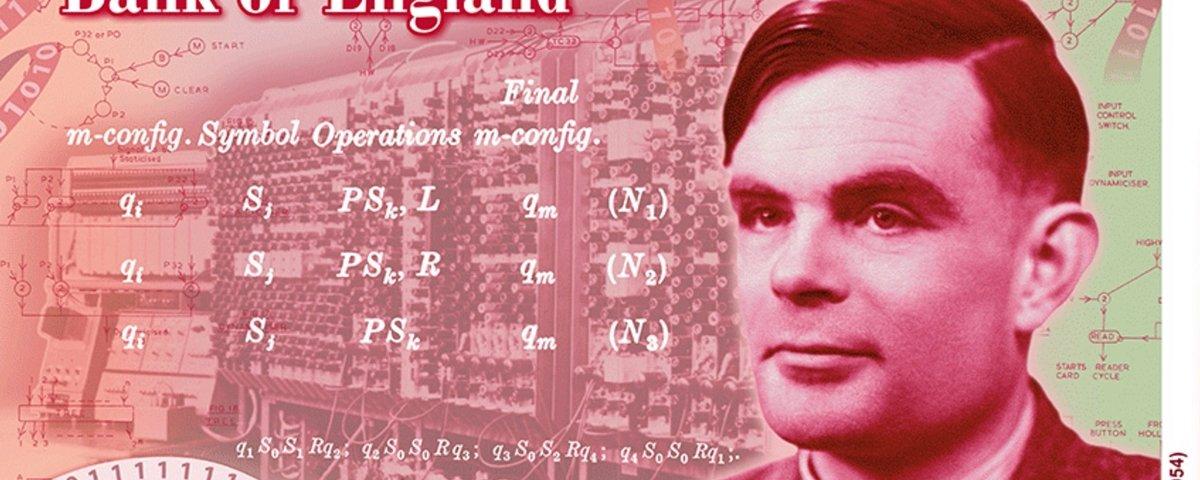 Alan Turing estampará nova nota de 50 libras na Inglaterra