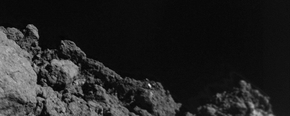 Robô pousa no asteroide Ryogu e capta imagens surpreendentes