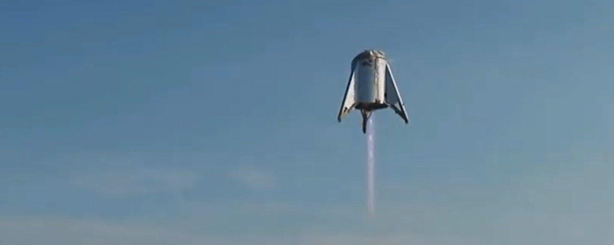 SpaceX testa com sucesso protótipo de nave que deve levar pessoas até Marte