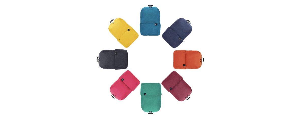 Mochila da Xiaomi vem em várias cores e tem ótimo custo-benefício