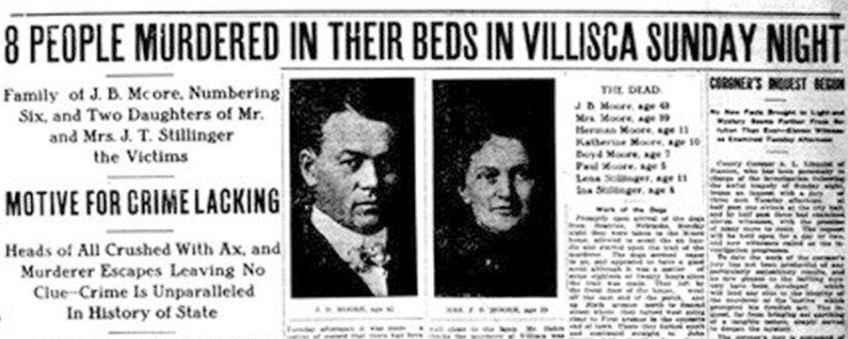 O assassino do machado: o inexplicável massacre de Villisca